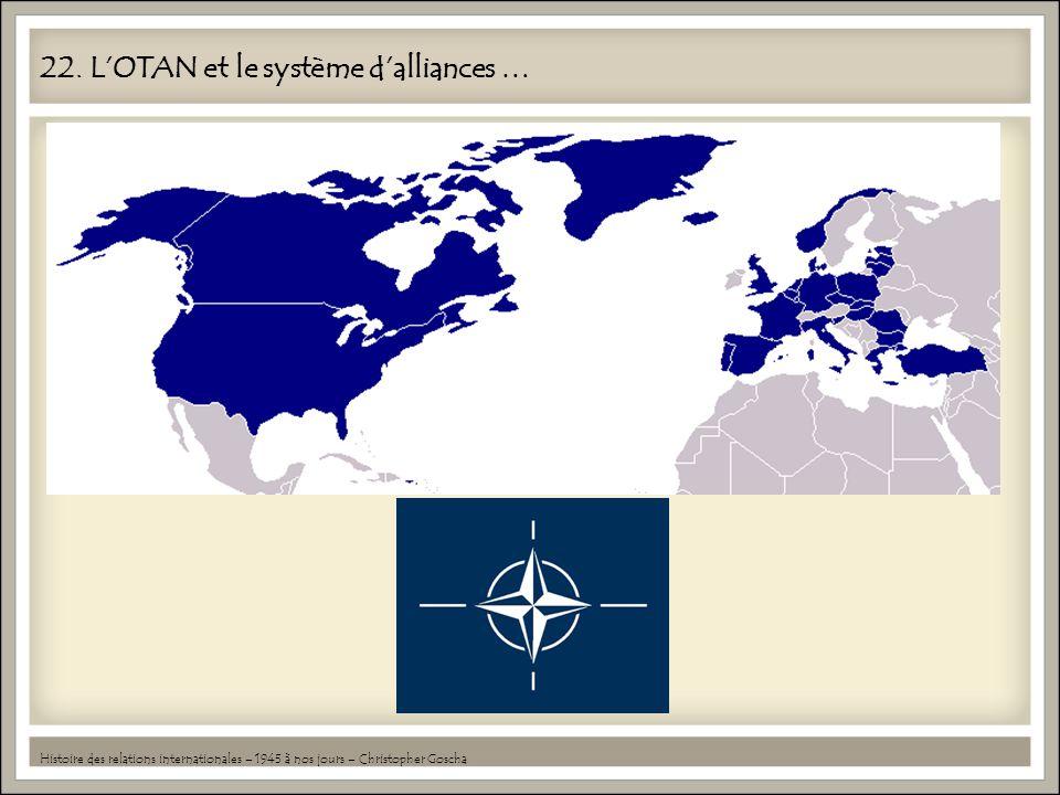 22. L'OTAN et le système d'alliances …