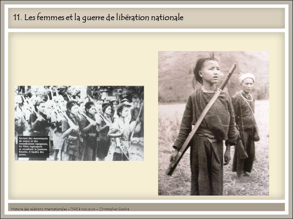 11. Les femmes et la guerre de libération nationale