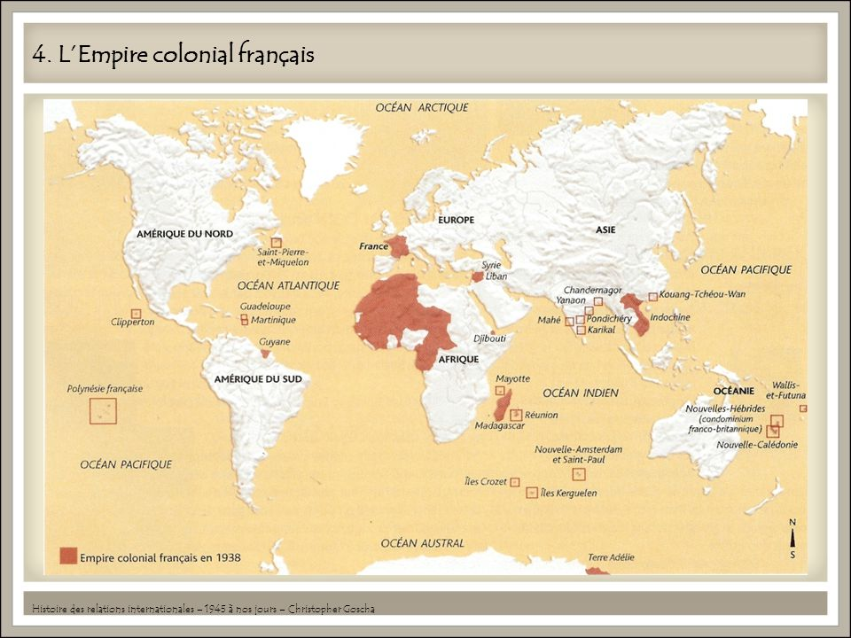 4. L'Empire colonial français
