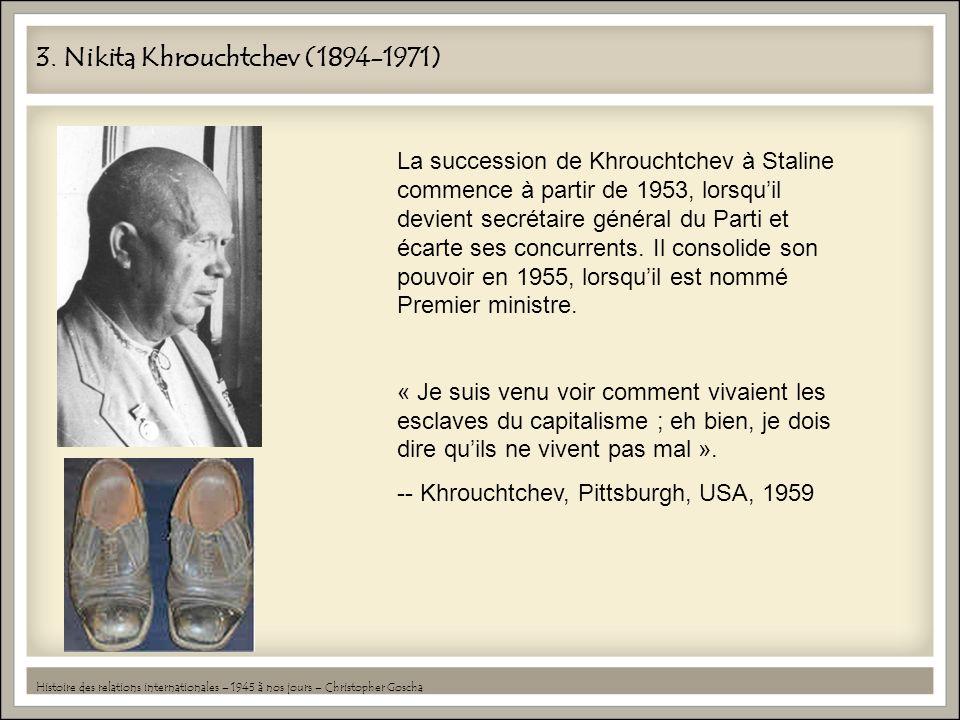 3. Nikita Khrouchtchev (1894-1971)