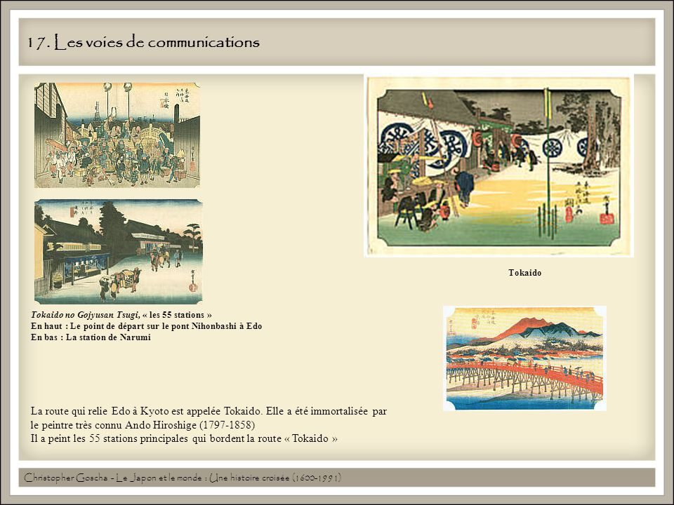 17. Les voies de communications