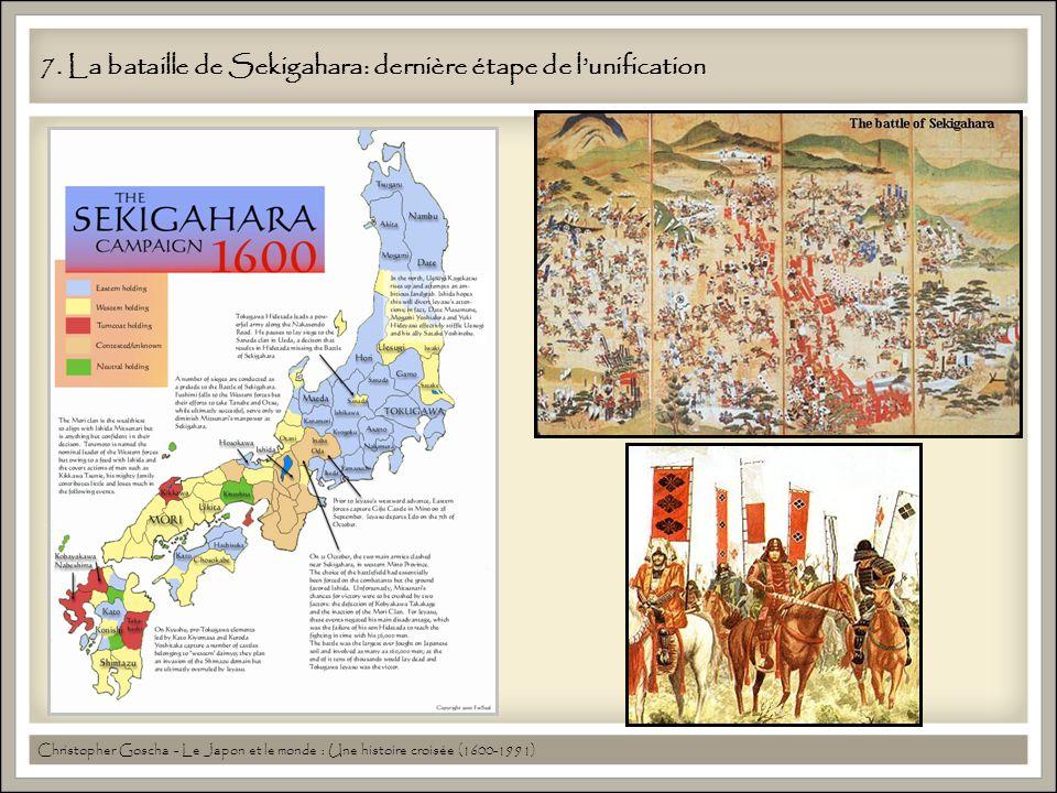 7. La bataille de Sekigahara: dernière étape de l'unification