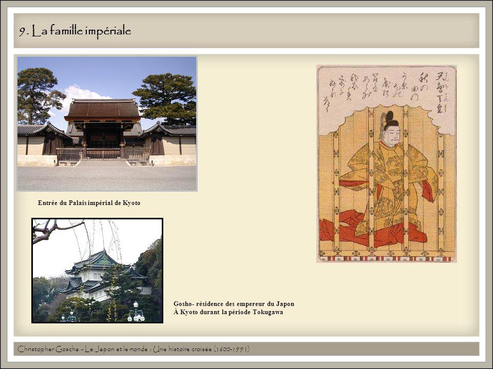 9. La famille impériale Entrée du Palais impérial de Kyoto