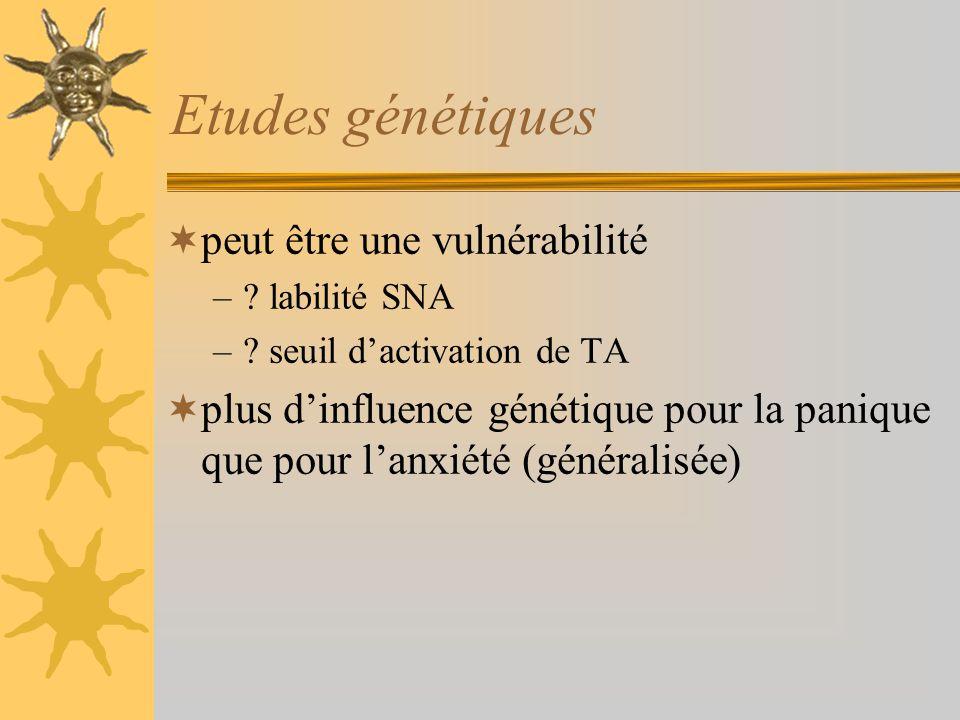 Etudes génétiques peut être une vulnérabilité