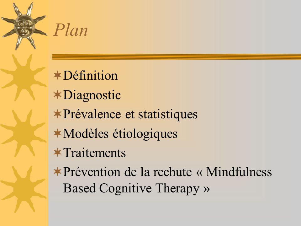 Plan Définition Diagnostic Prévalence et statistiques
