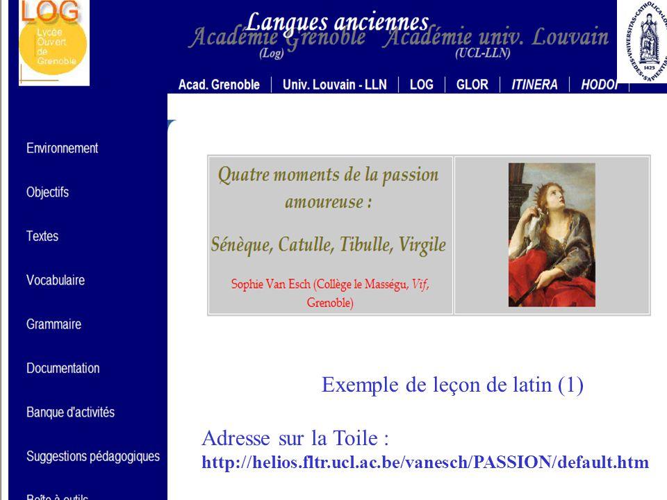 Exemple de leçon de grec (4) Prochainement sur vos écrans …