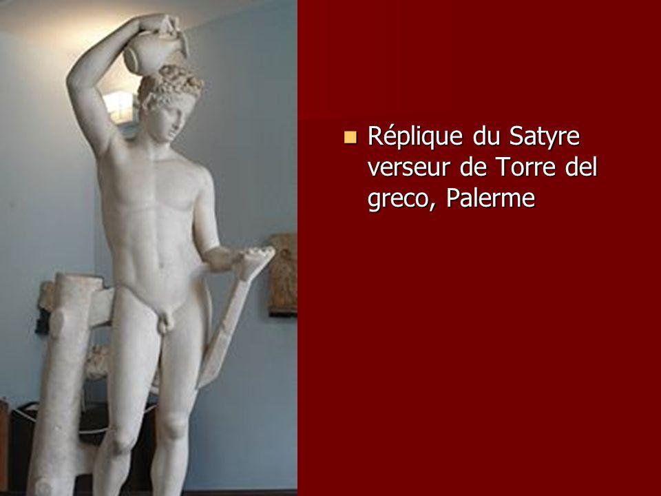Réplique du Satyre verseur de Torre del greco, Palerme