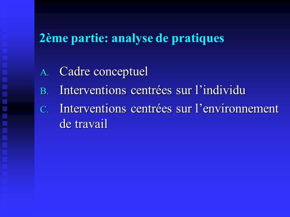 2ème partie: analyse de pratiques