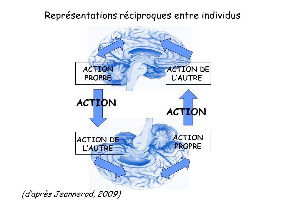 Représentations réciproques entre individus