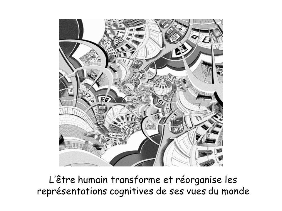 L'être humain transforme et réorganise les