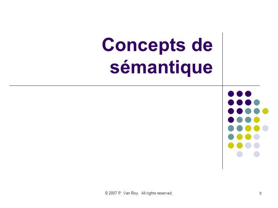 Concepts de sémantique