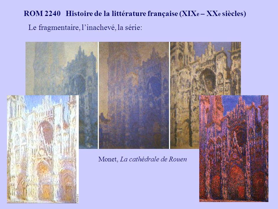 Monet, La cathédrale de Rouen