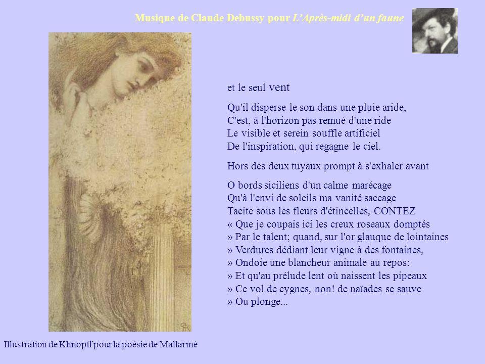 Musique de Claude Debussy pour L'Après-midi d'un faune