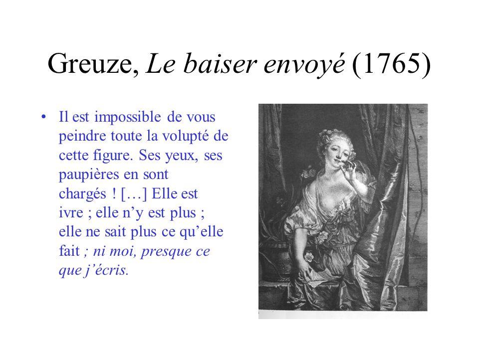 Greuze, Le baiser envoyé (1765)