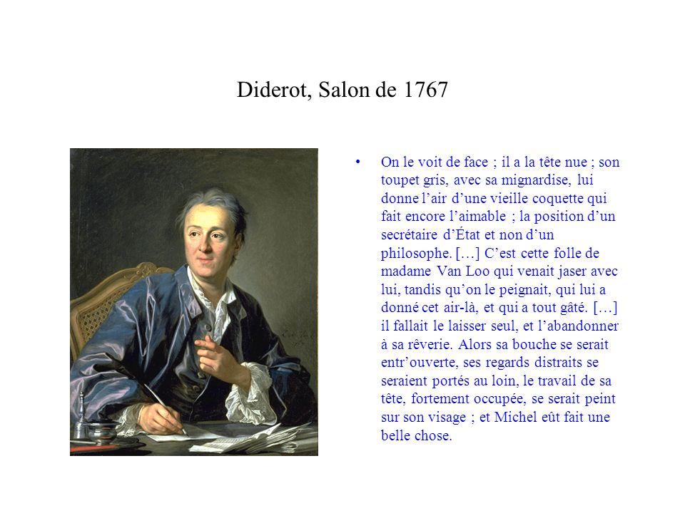 Diderot, Salon de 1767