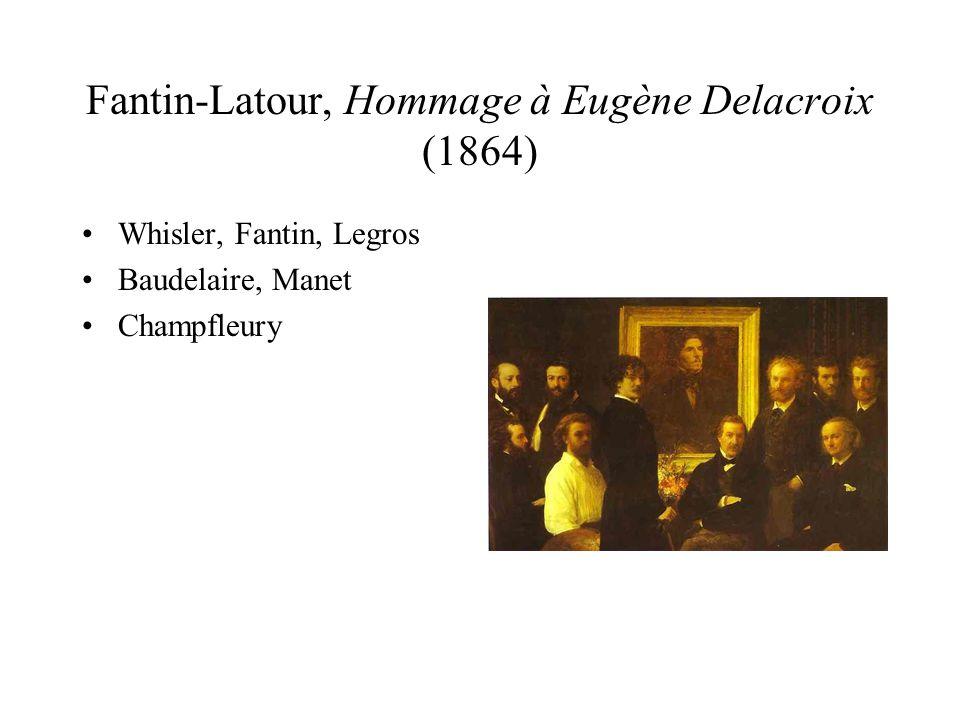 Fantin-Latour, Hommage à Eugène Delacroix (1864)