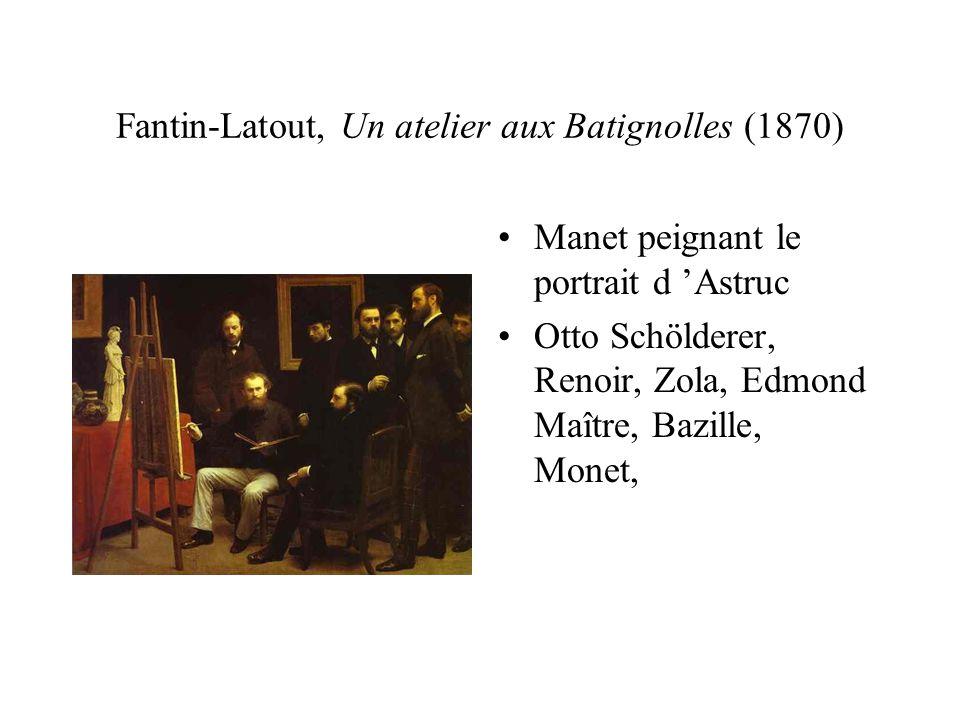 Fantin-Latout, Un atelier aux Batignolles (1870)