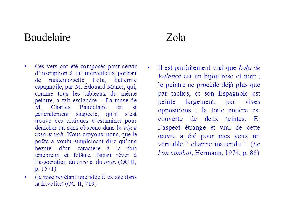 Baudelaire Zola