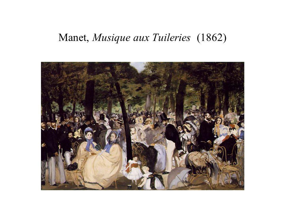 Manet, Musique aux Tuileries (1862)