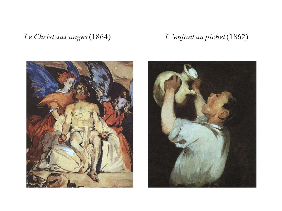Le Christ aux anges (1864) L 'enfant au pichet (1862)