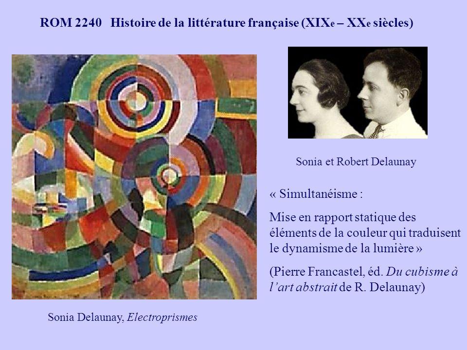 Sonia et Robert Delaunay