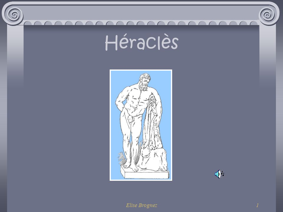 Héraclès Elise Brognez