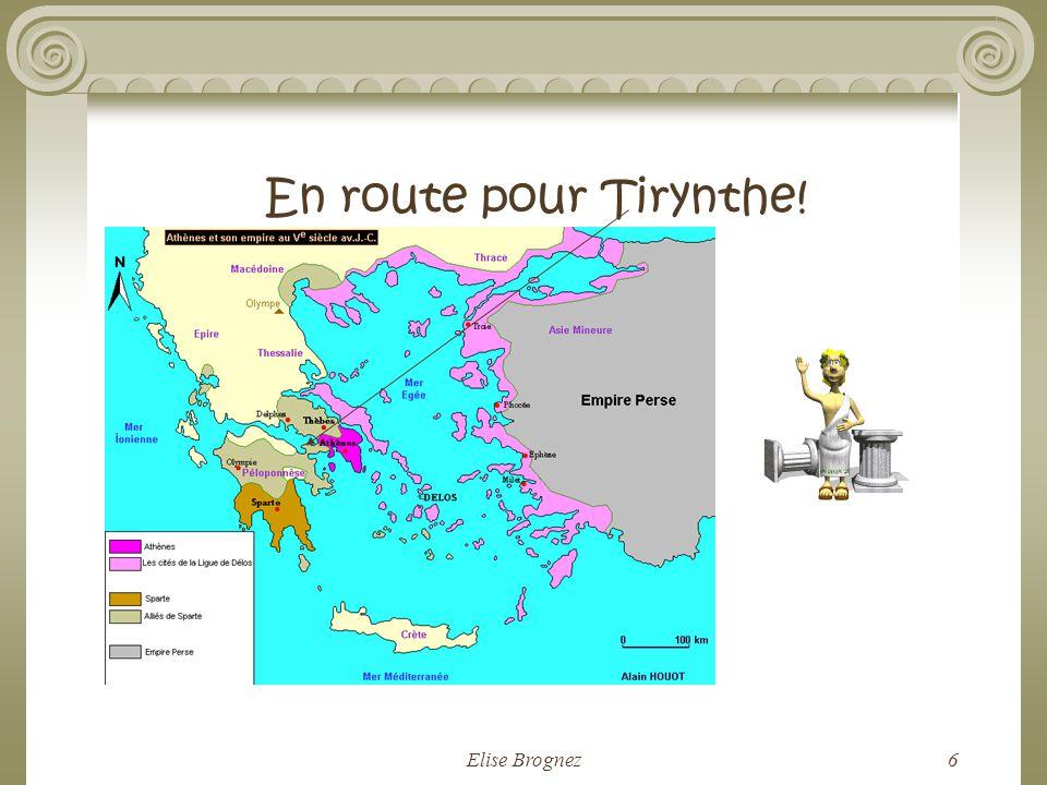 En route pour Tirynthe! Elise Brognez