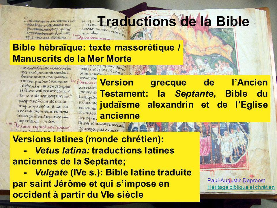 Traductions de la Bible