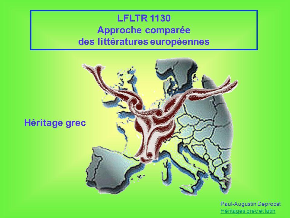 des littératures européennes