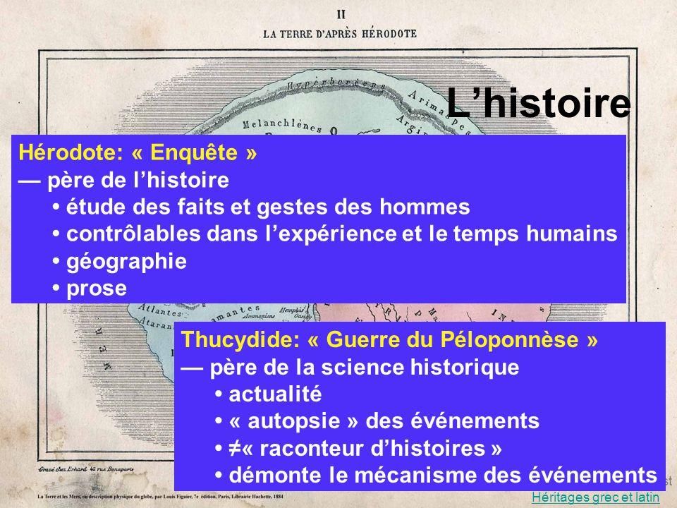 L'histoire Hérodote: « Enquête » — père de l'histoire