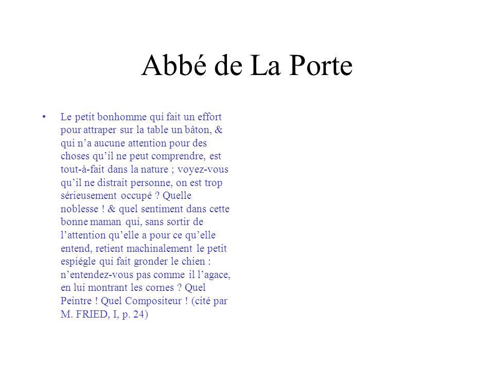 Abbé de La Porte