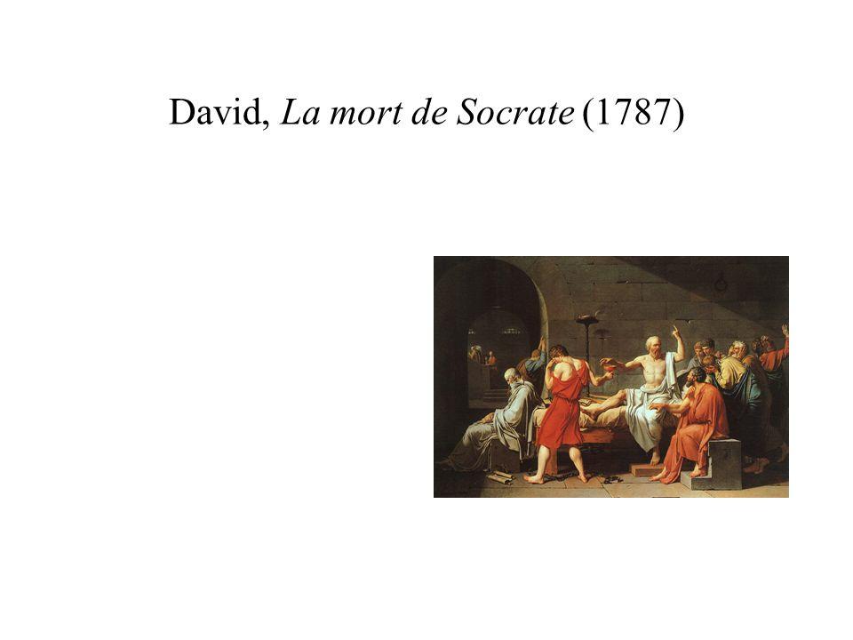 David, La mort de Socrate (1787)