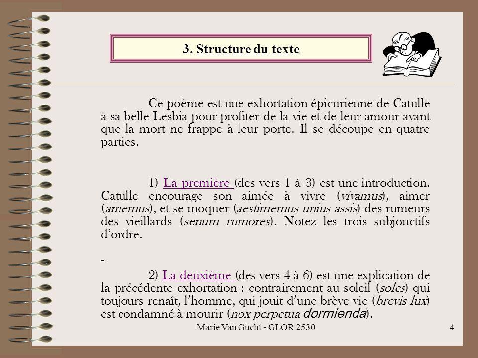 3. Structure du texte