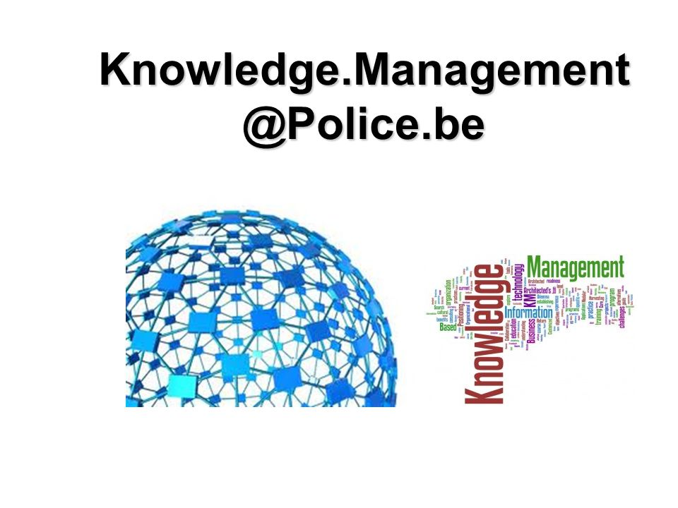 Knowledge.Management @Police.be