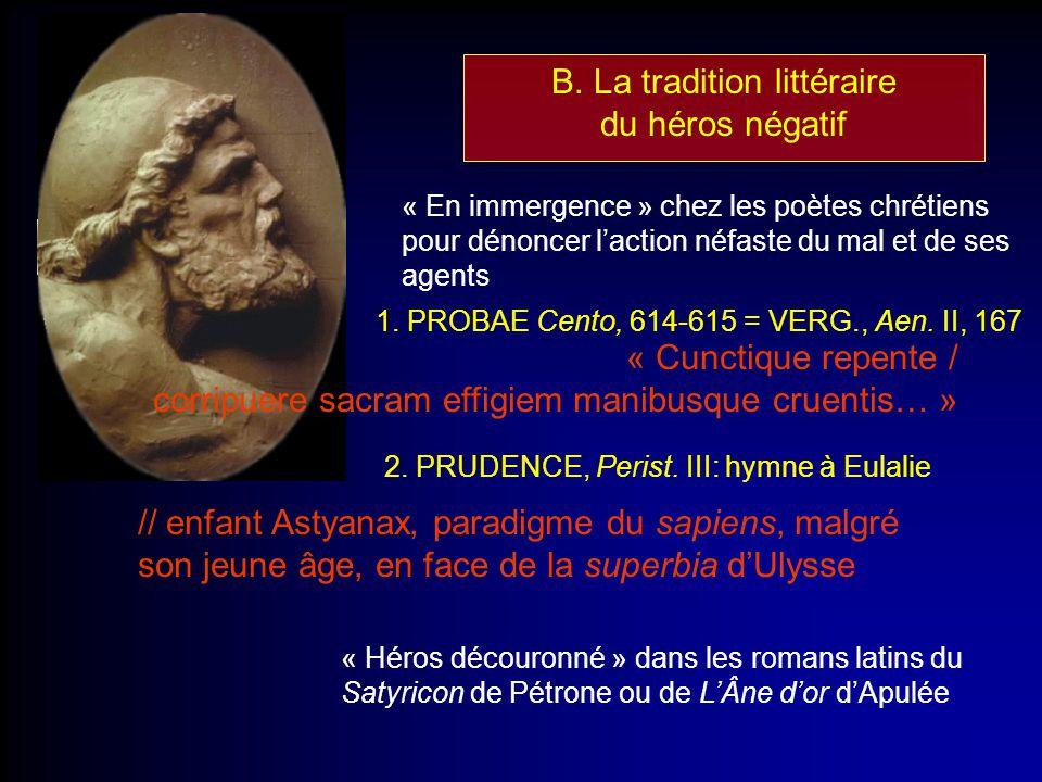 B. La tradition littéraire