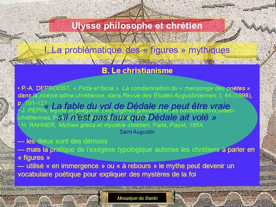 Ulysse philosophe et chrétien