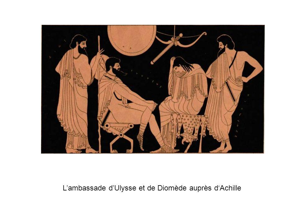 L'ambassade d'Ulysse et de Diomède auprès d'Achille