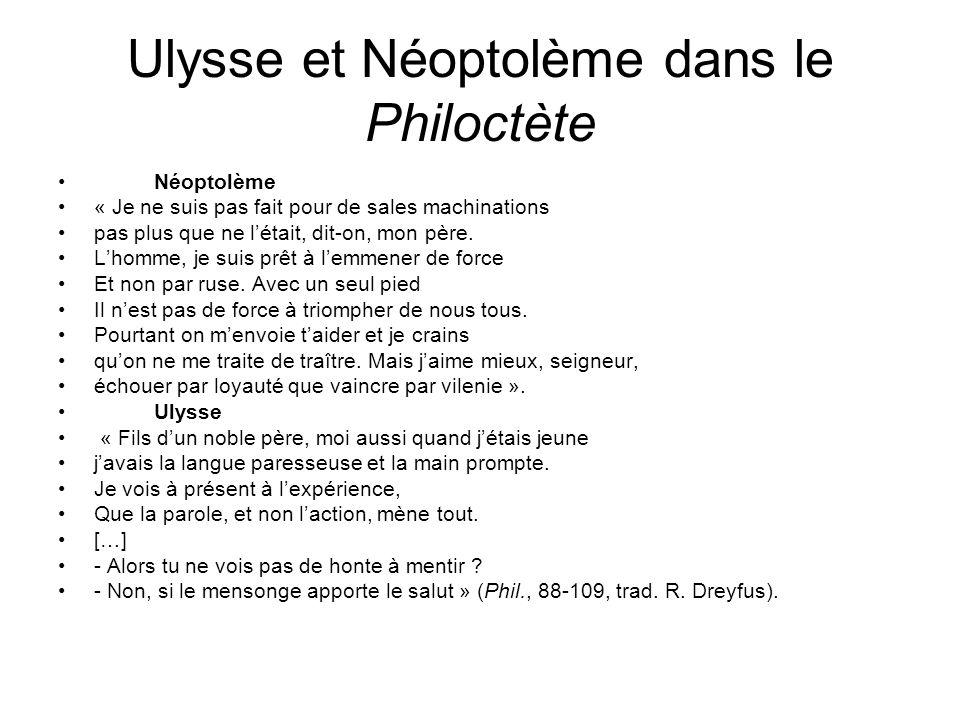 Ulysse et Néoptolème dans le Philoctète
