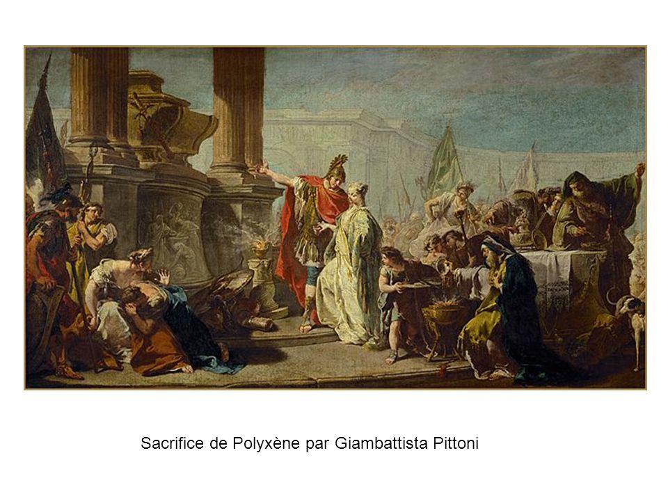 Sacrifice de Polyxène par Giambattista Pittoni