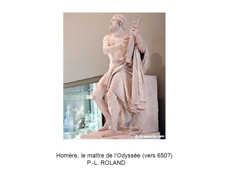 Homère, le maître de l'Odyssée (vers 650 )