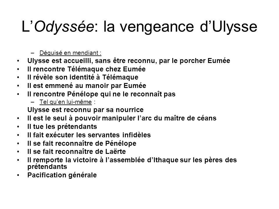 L'Odyssée: la vengeance d'Ulysse