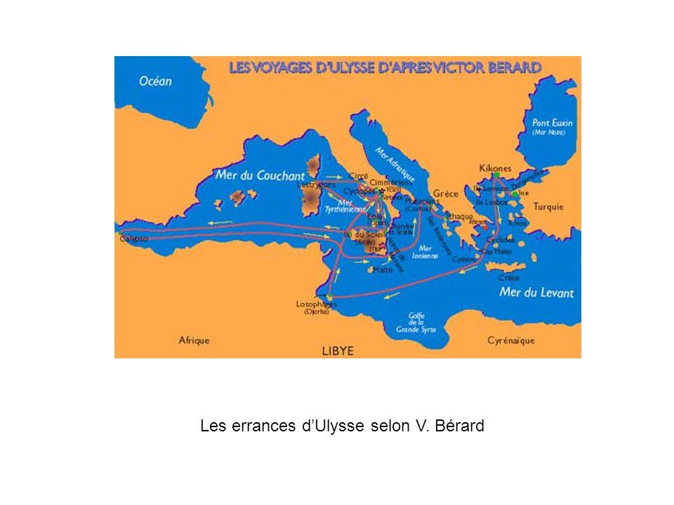 Les errances d'Ulysse selon V. Bérard