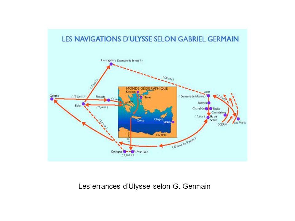Les errances d'Ulysse selon G. Germain