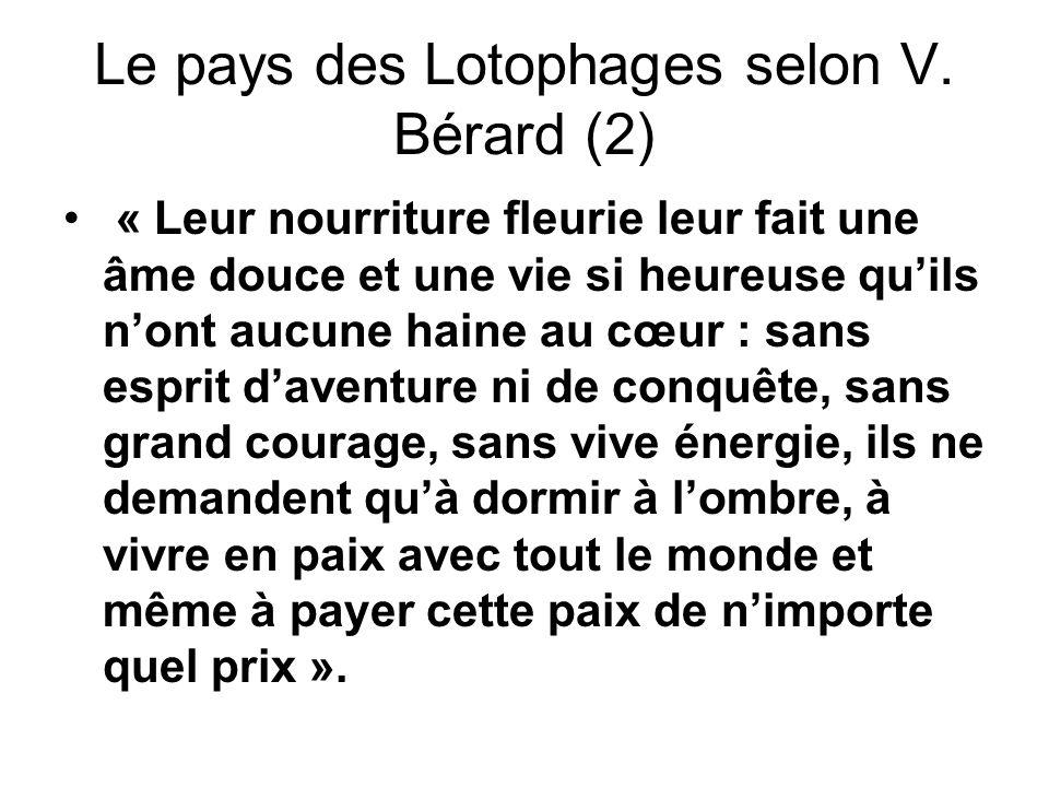 Le pays des Lotophages selon V. Bérard (2)