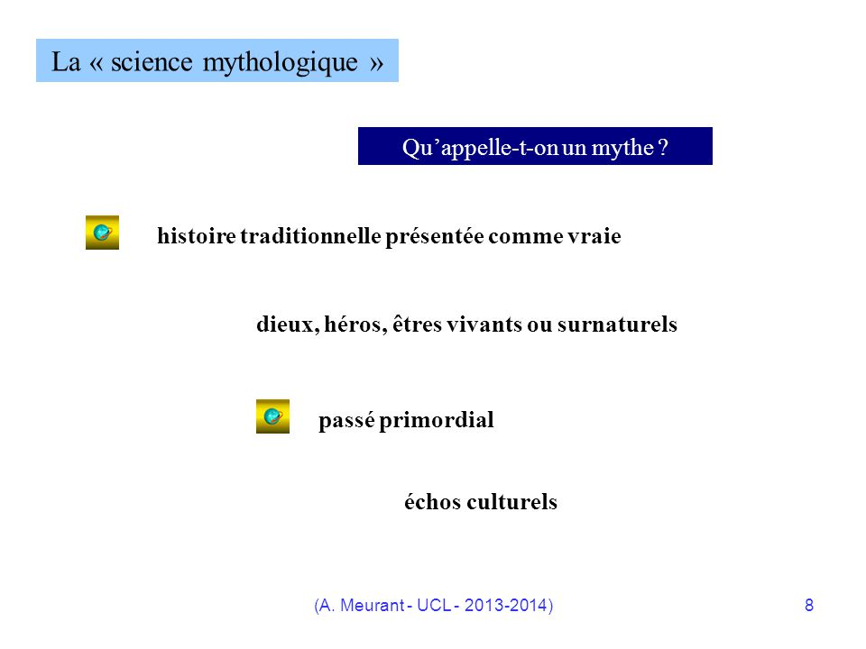 La « science mythologique »