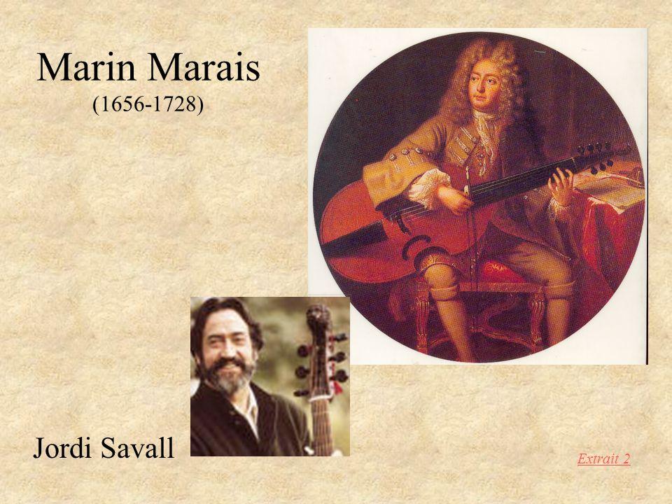 Marin Marais (1656-1728) Jordi Savall Extrait 2