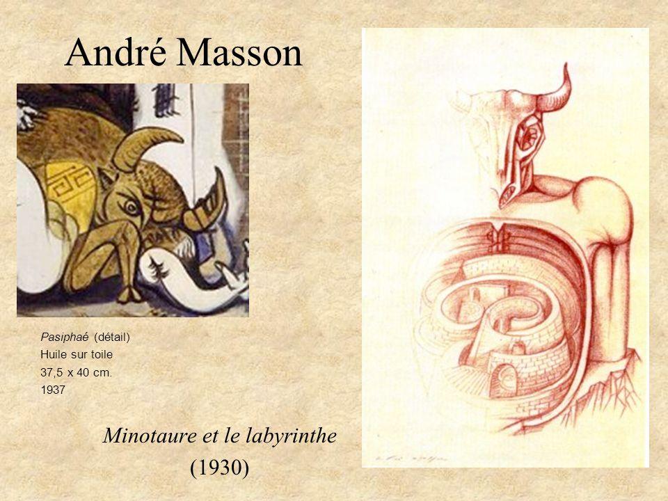 Minotaure et le labyrinthe (1930)