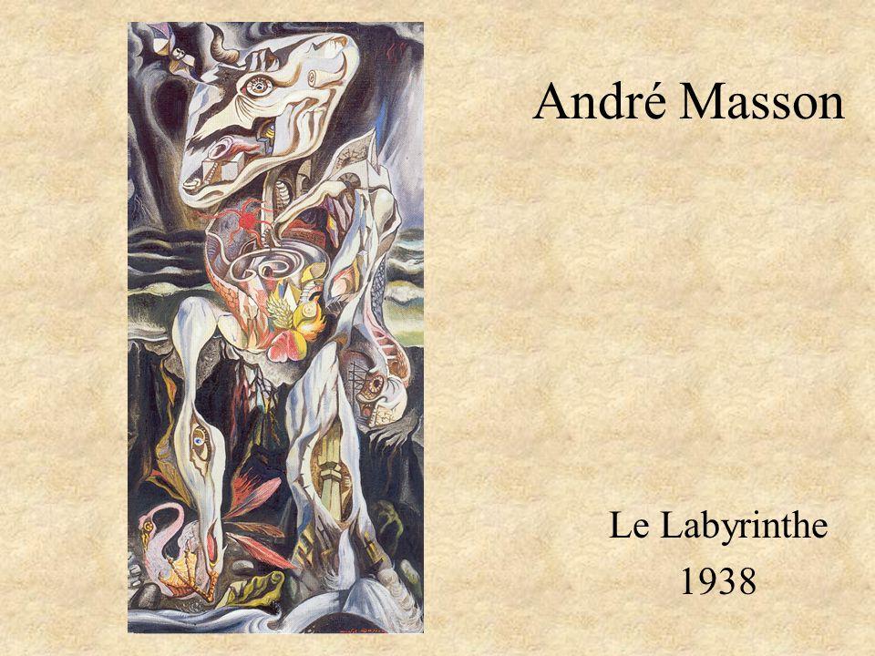 André Masson Le Labyrinthe 1938