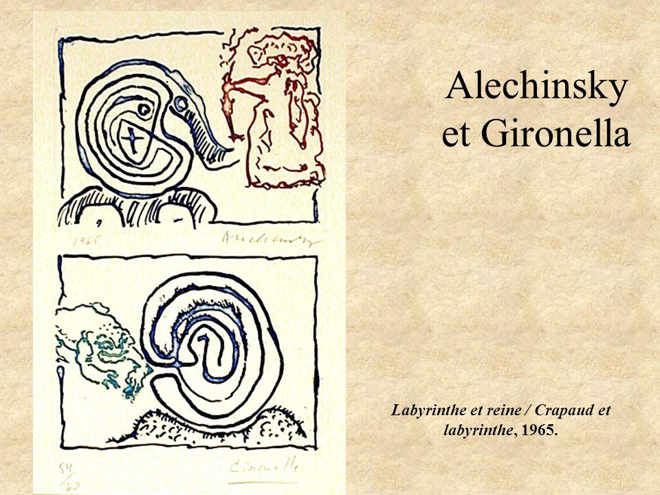 Alechinsky et Gironella