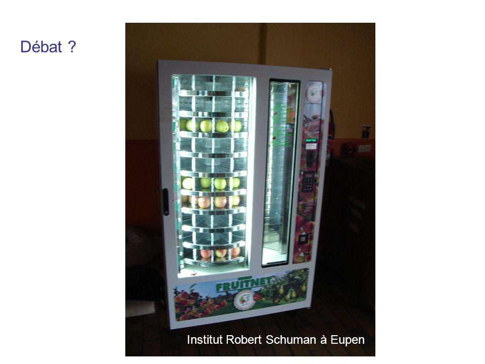 Débat Institut Robert Schuman à Eupen